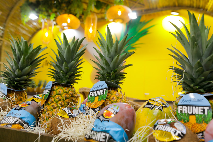 diseño de stands para empresas en feria Fruit Attraction 2019